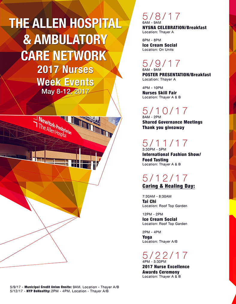 Nurses Week Flyer 2017